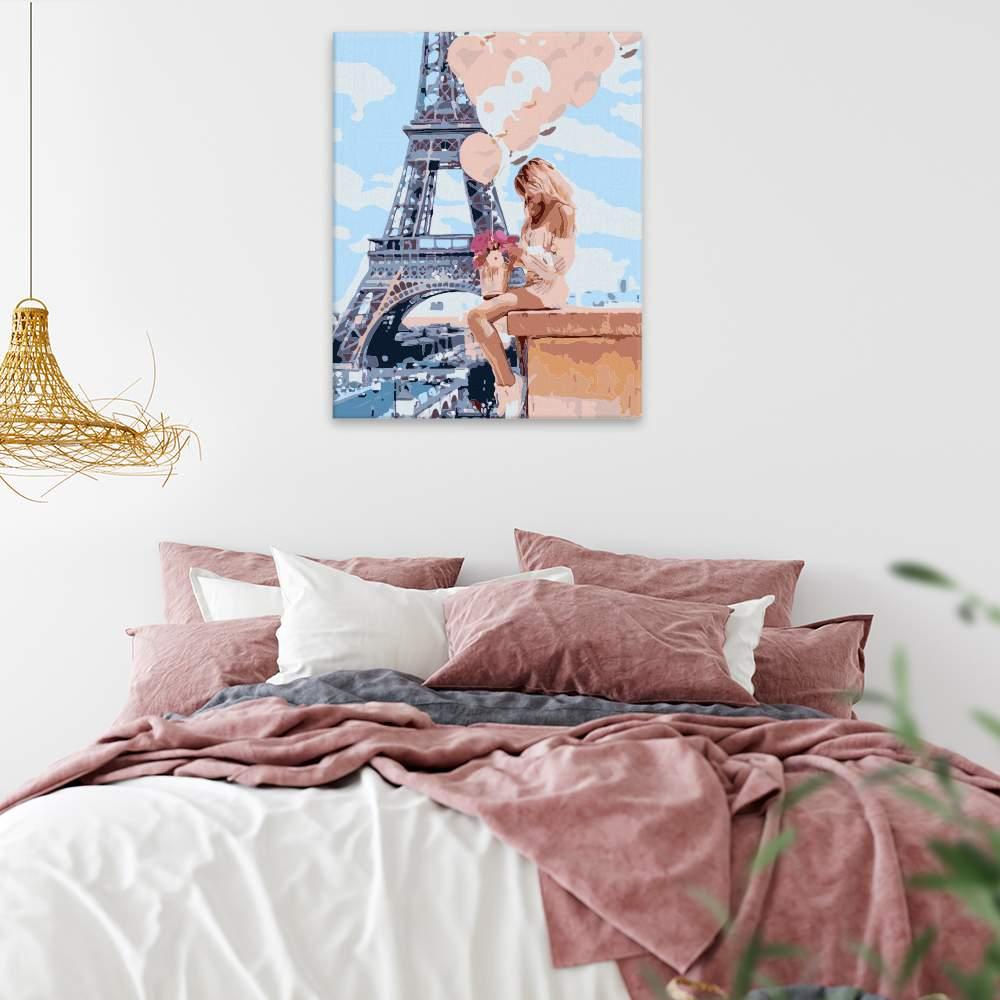Obraz na zdi Dívka s balónky
