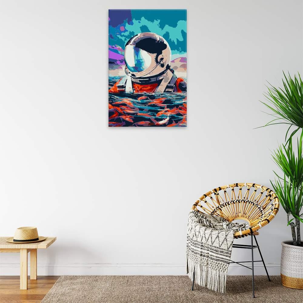 Obraz na zdi Plovoucí astronout