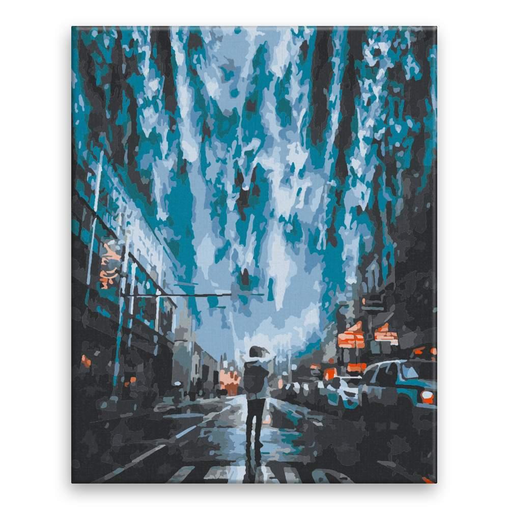 Malování podle čísel Město před potopou