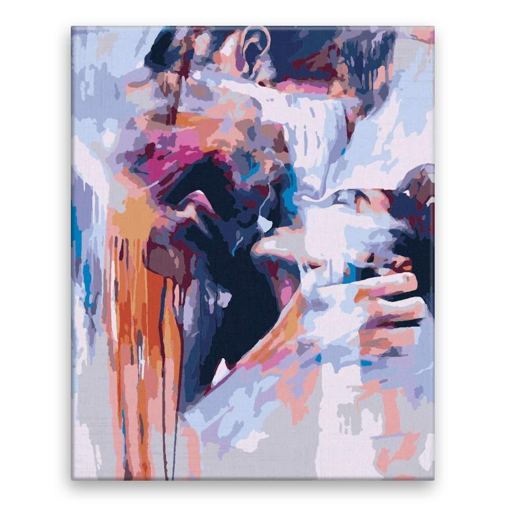 Malování podle čísel V objetí
