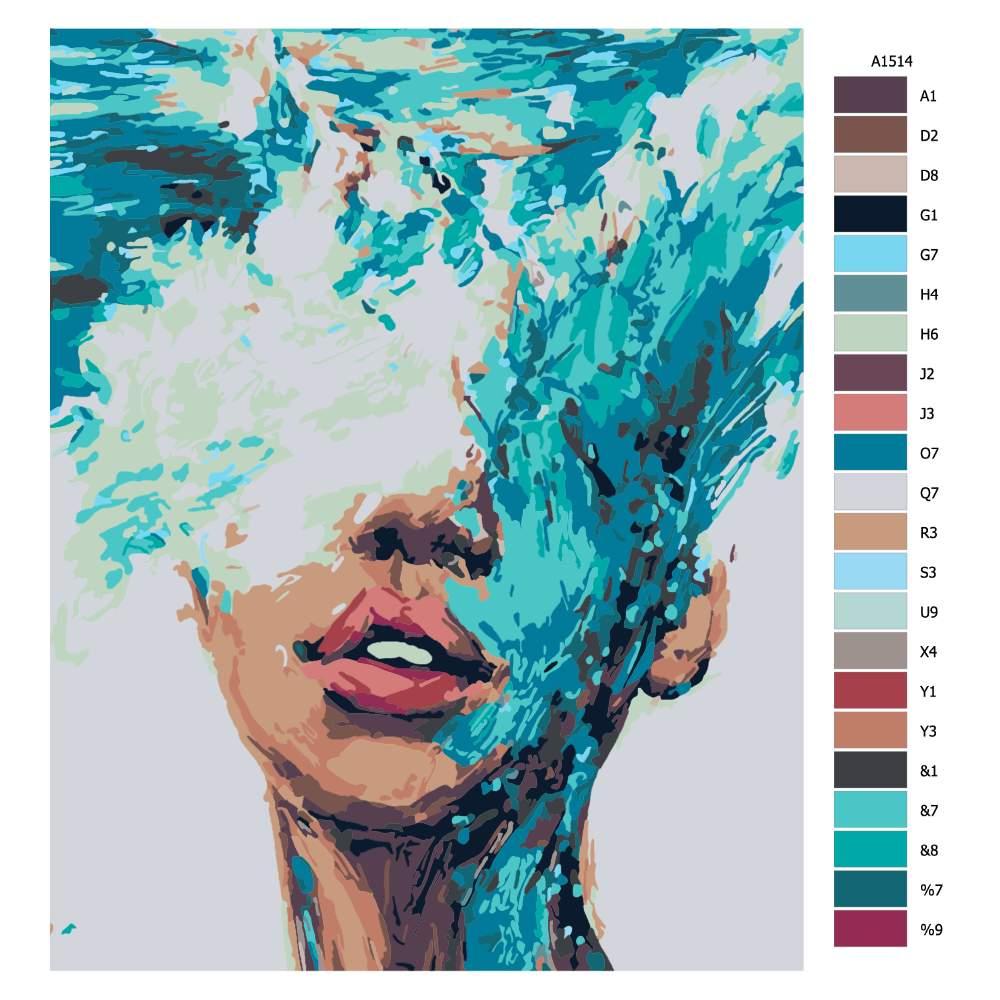 Návod pro malování podle čísel V bouři