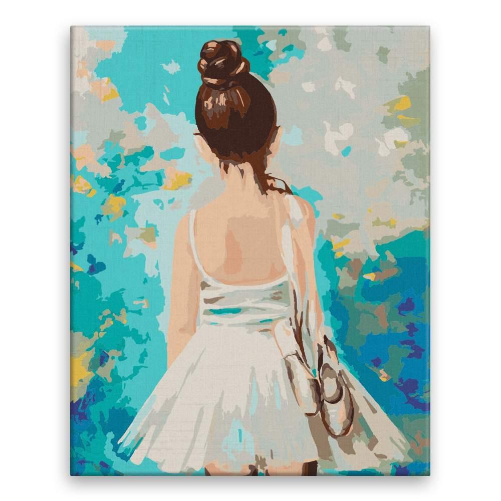 Malování podle čísel Malá balerína