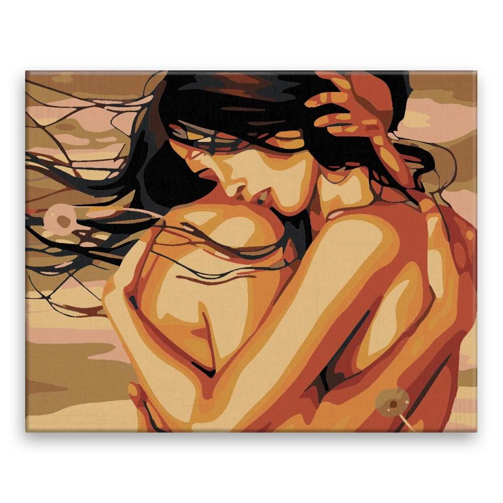 Malování podle čísel V hlubokém objetí