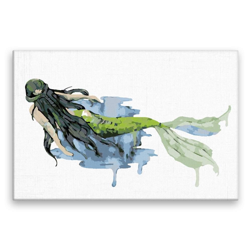Malování podle čísel Plavající mořská pana