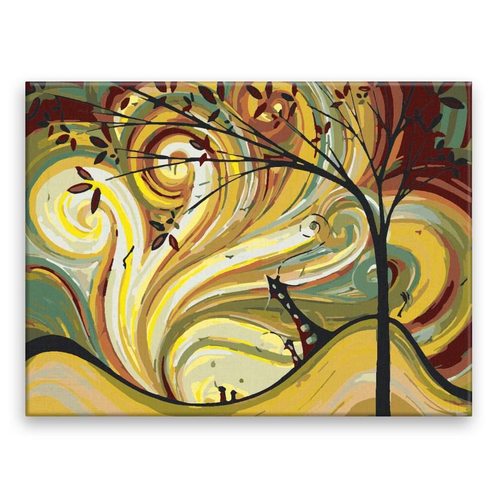 Malování podle čísel Kouzelné vlny