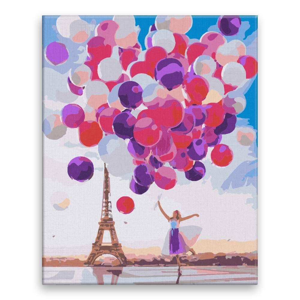 Malování podle čísel Milion balonků