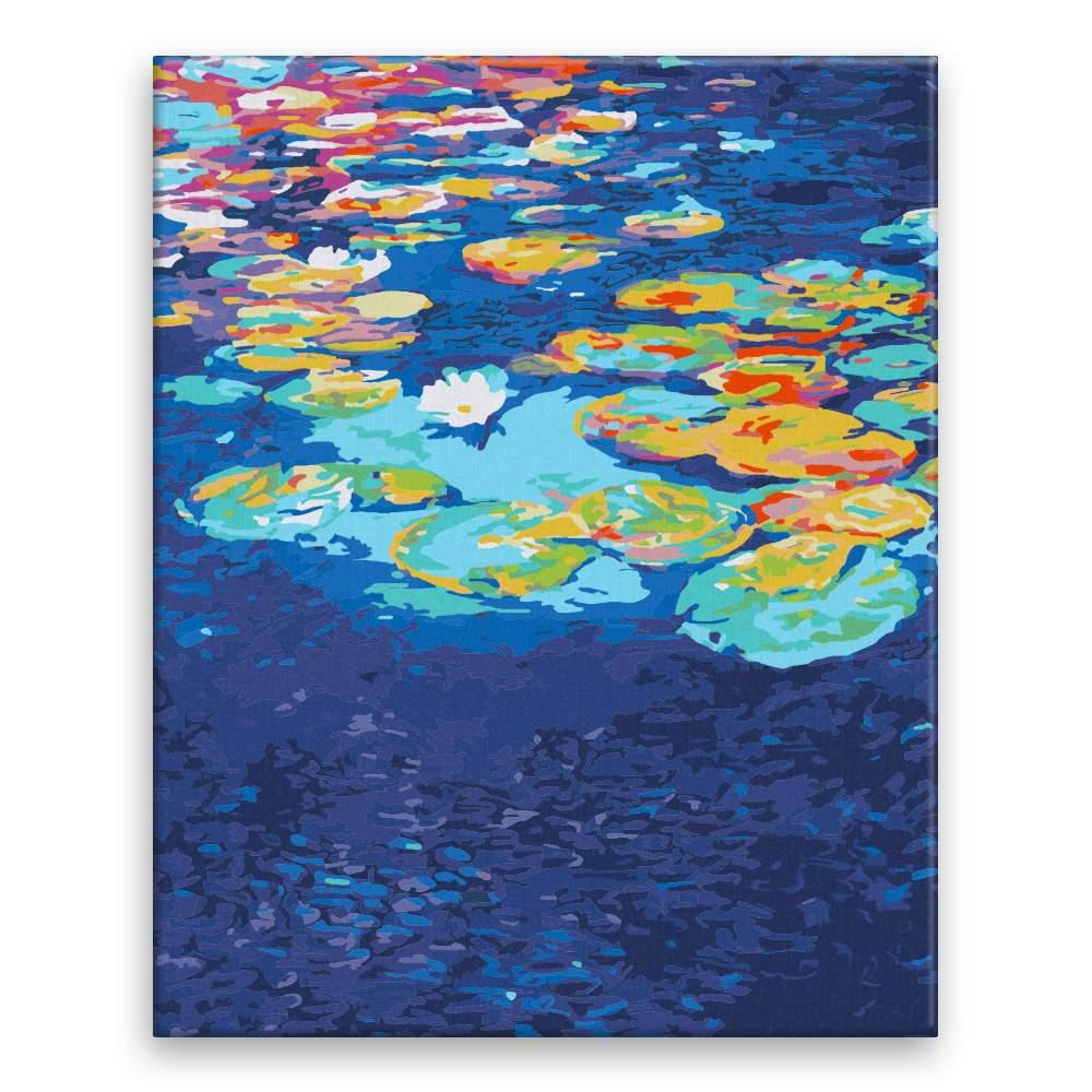 Malování podle čísel Leknínový rybník