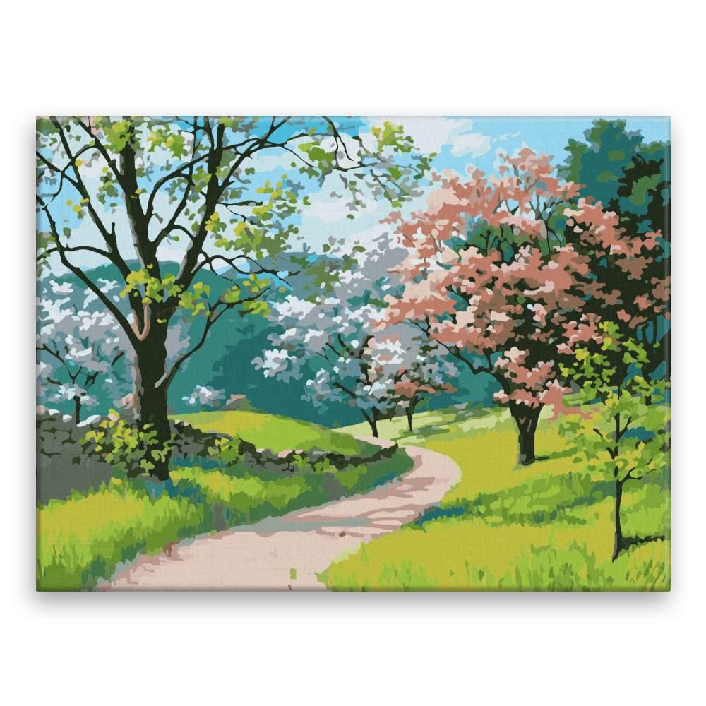Malování podle čísel Květnová krása