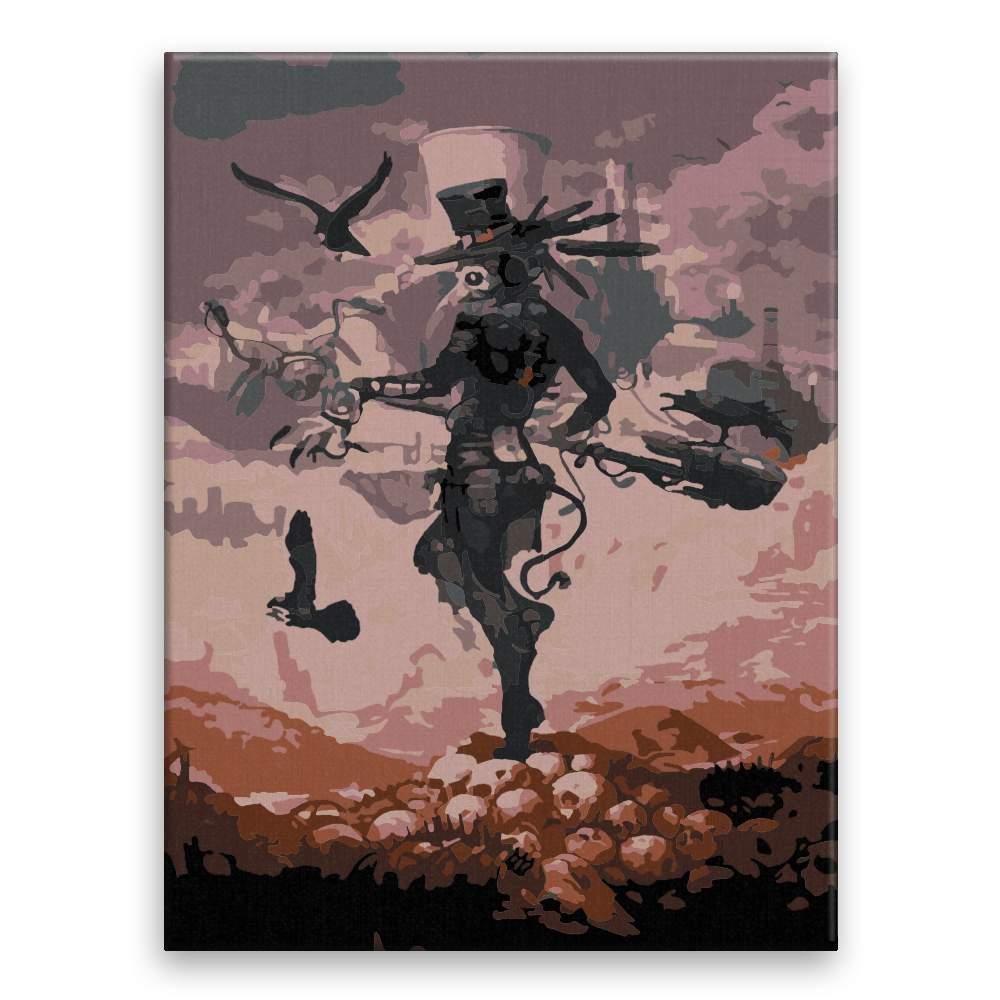 Malování podle čísel Vraní muž budoucnost