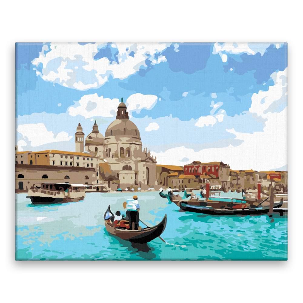 Malování podle čísel Benátský pozdrav