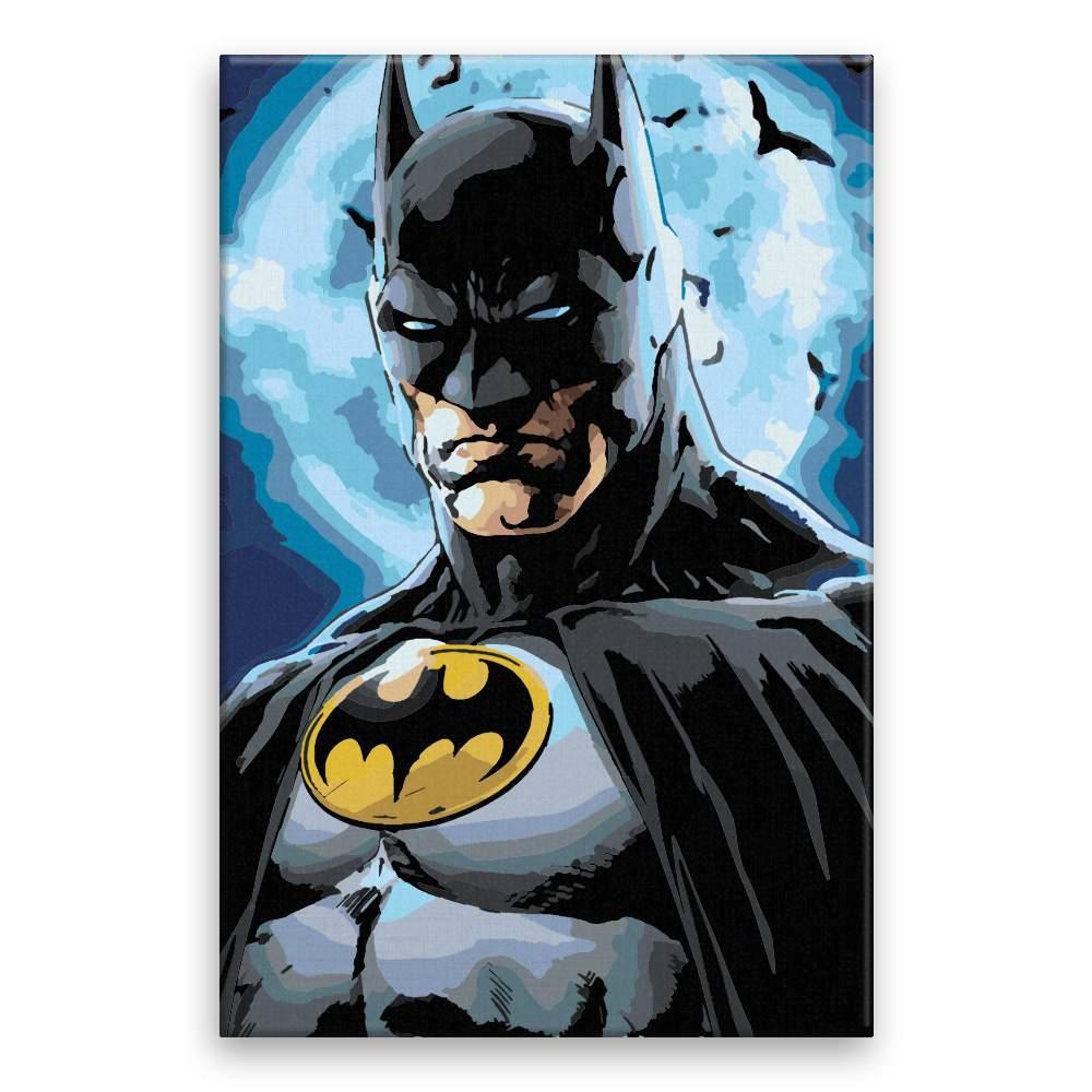 Malování podle čísel Batman 03
