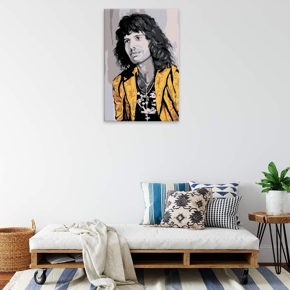 Malování podle čísel Freddie Mercury 04