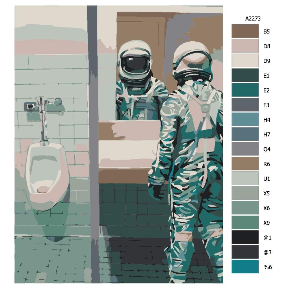 Malování podle čísel Když musíš