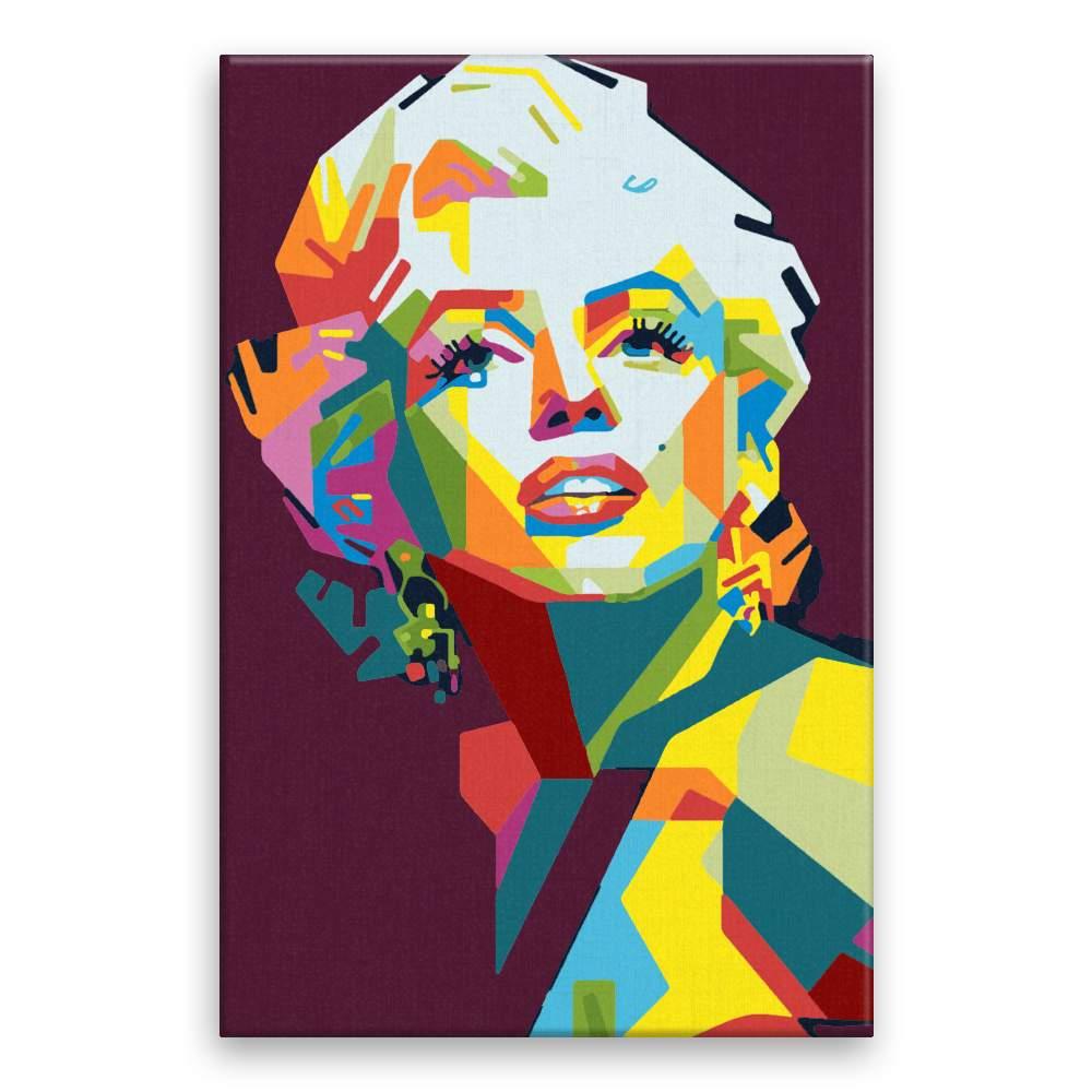 Malování podle čísel Marilyn Monroe 04