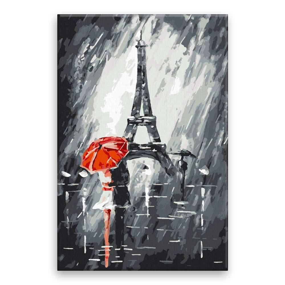 Malování podle čísel Pod Eiffelovkou