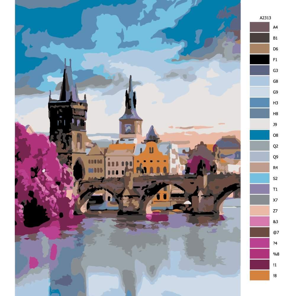 Návod pro malování podle čísel Praha 02