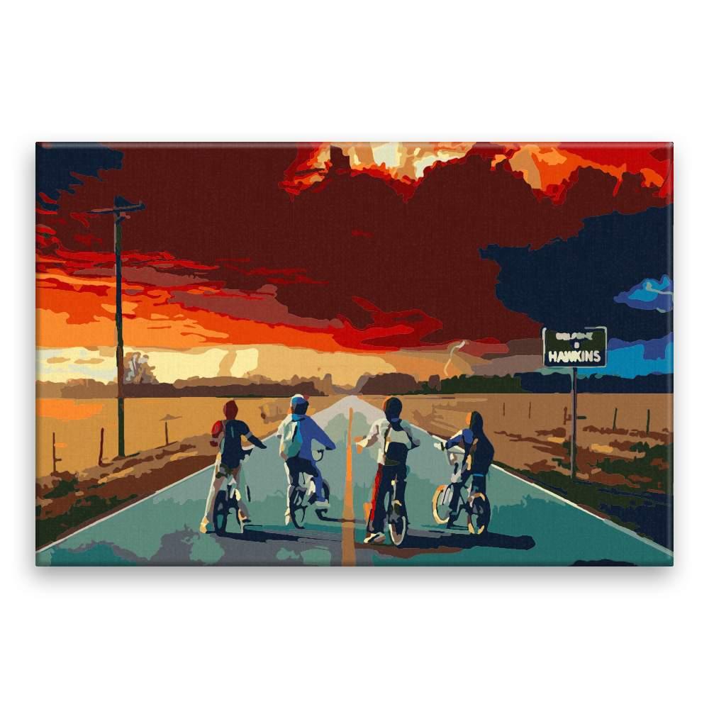 Malování podle čísel Stranger Things 02