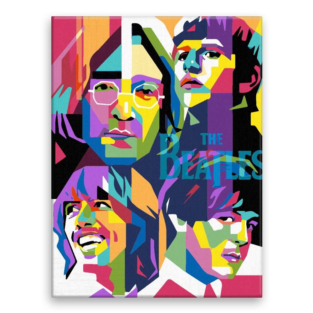 Malování podle čísel The Beatles