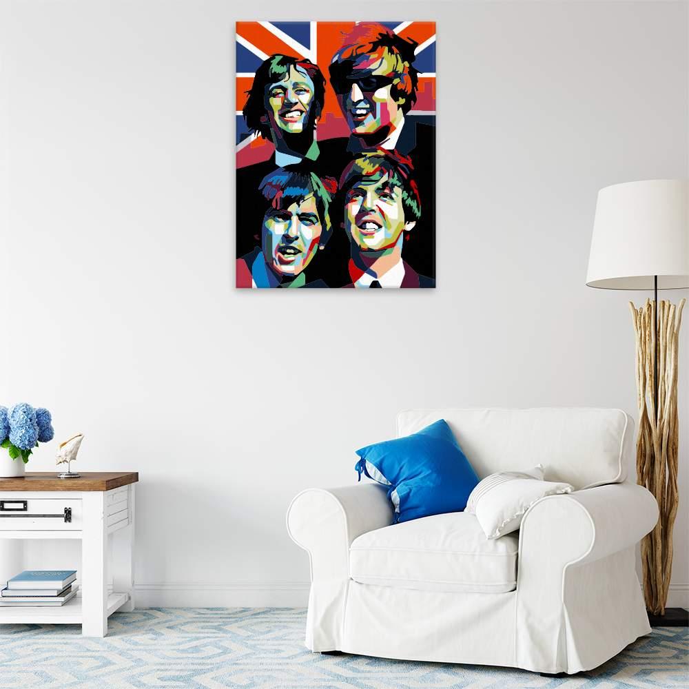 Malování podle čísel The Beatles 02