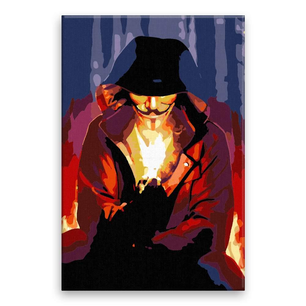 Malování podle čísel Vendeta 02