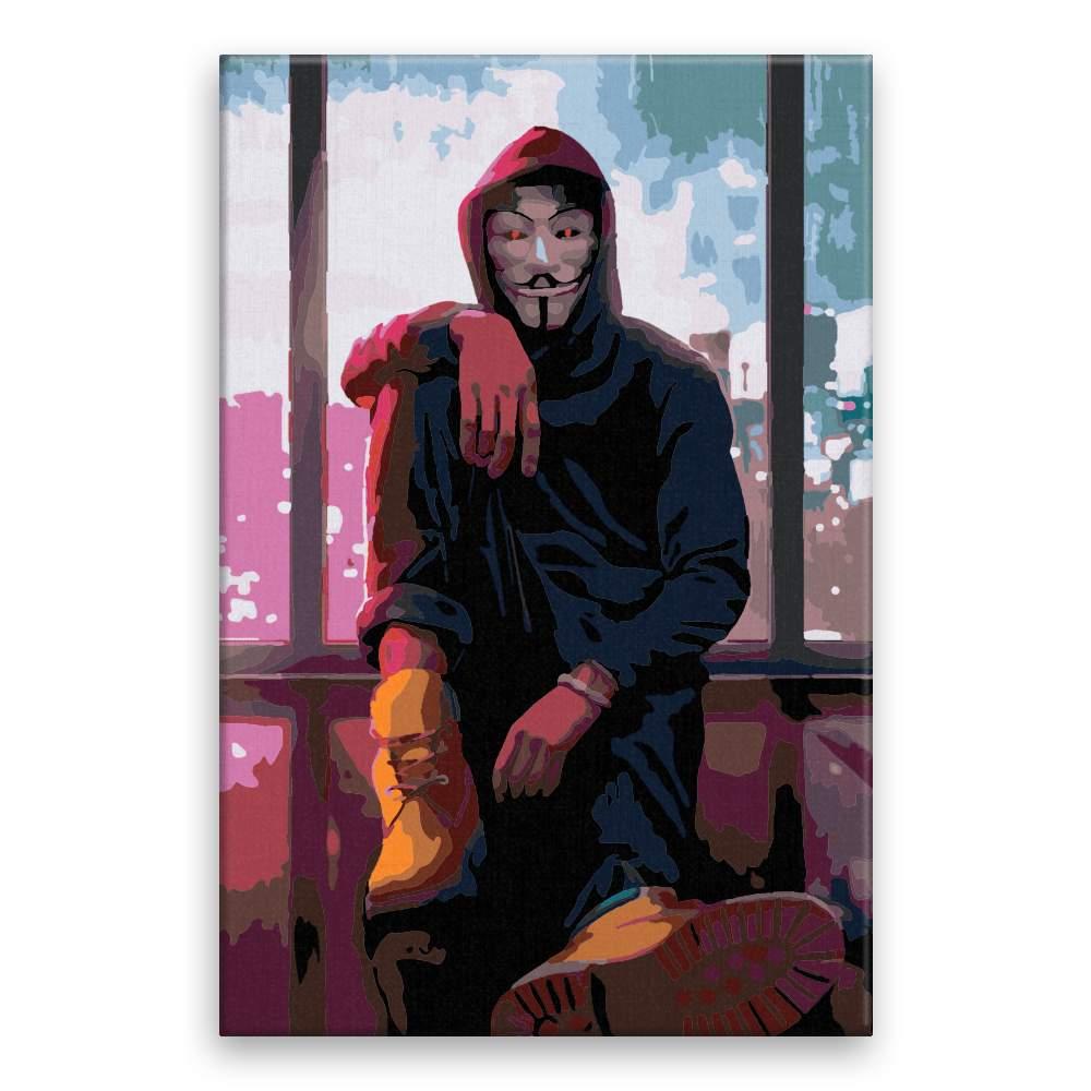 Malování podle čísel Vendeta 03