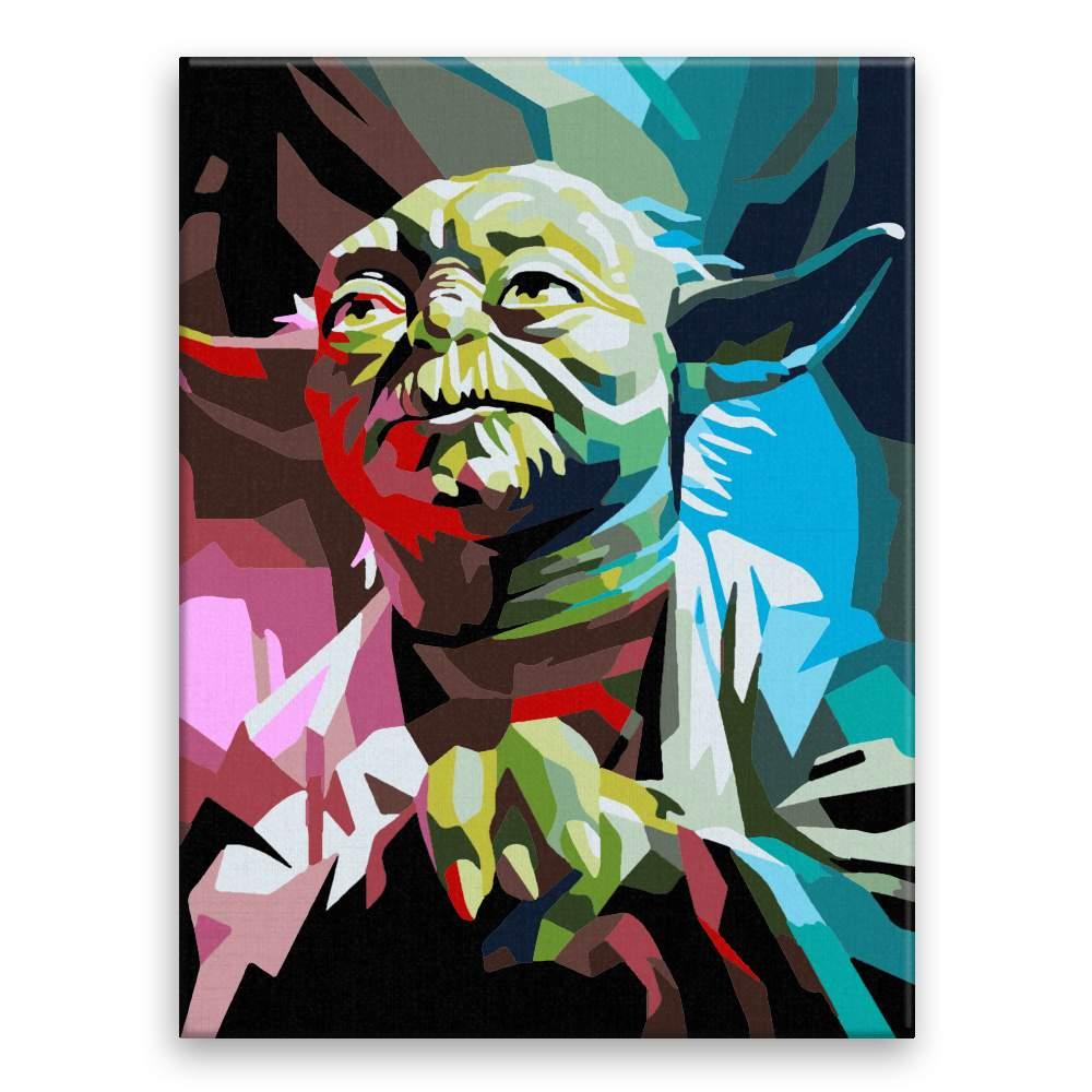 Malování podle čísel Yoda 01