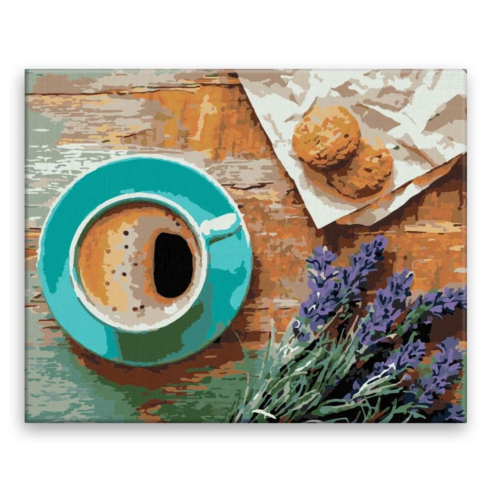 Malování podle čísel Káva v Provence